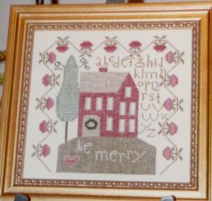 Christmas house sampler