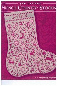 french country stocking