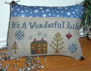 Wonderful life pillow