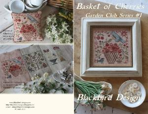 basket of cherries, garden club series 1