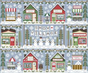 ' snow cone cart, série snow village
