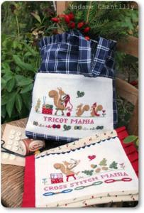 cross stitch & tricot mania