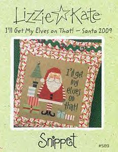I'll get my elves on that ! - santa 2009